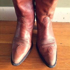 Cowboy boots (Size 6)